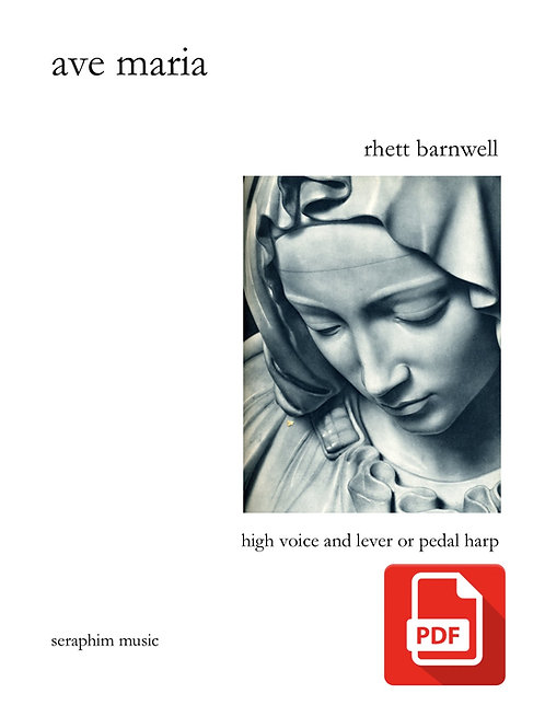 Ave Maria-Rhett Barnwell PDF Download