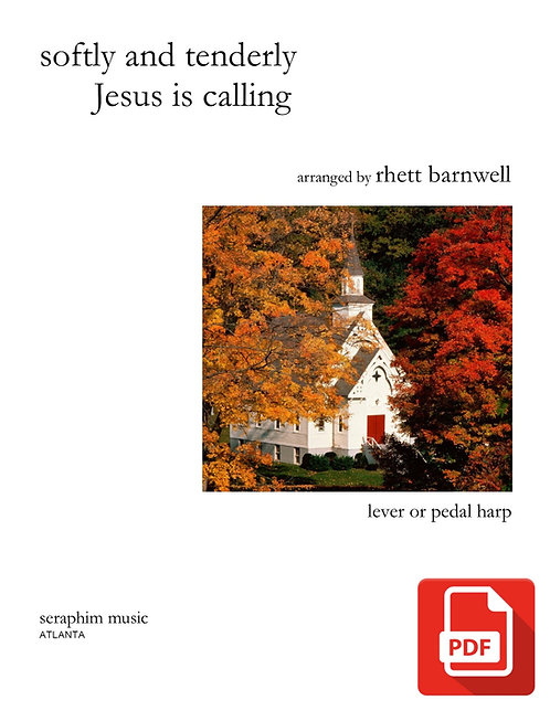 Softly and Tenderly Jesus is Calling-PDF Download