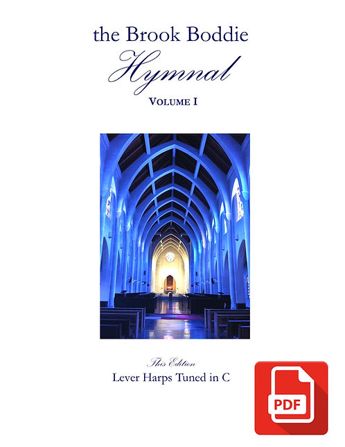 The Brook Boddie Hymnal, Volume I, C version, PDF