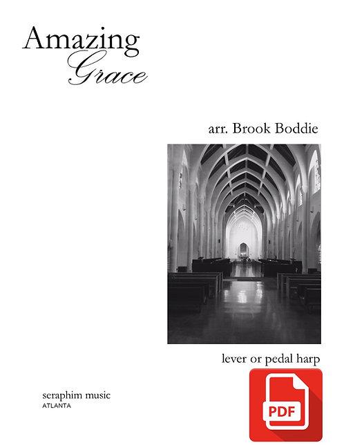 Amazing Grace arr. Brook Boddie PDF Download