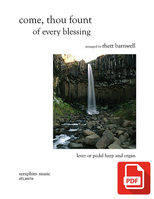 Come, Thou Fount of Every Blessing PDF