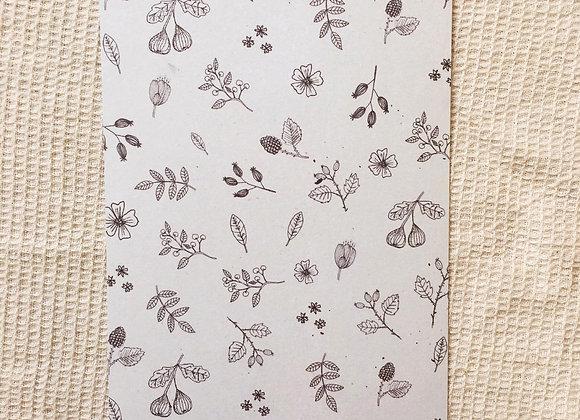Postkarte 'Florales'