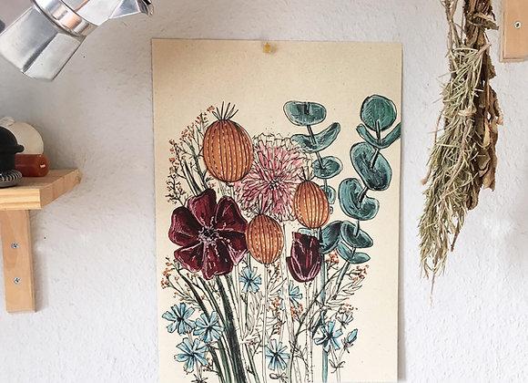 Print 'Blumenstrauß'