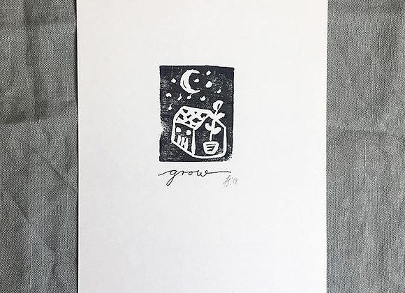 Print 'Grow'