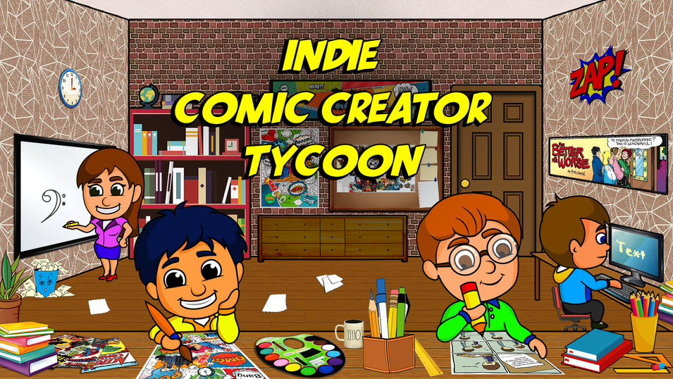 Indie Comic Creator Tycoon