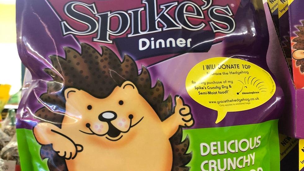 Spikes dry hedgehog food