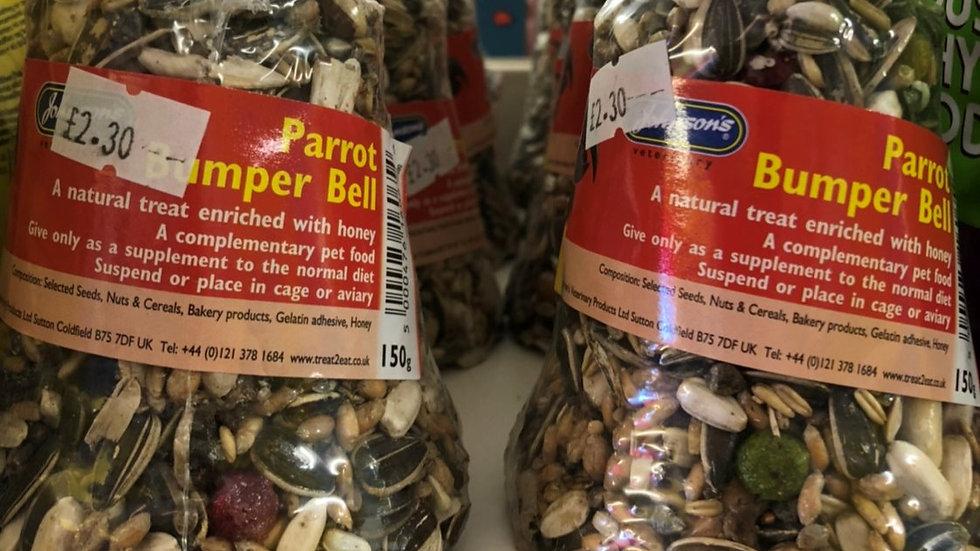 Parrot bumper bell