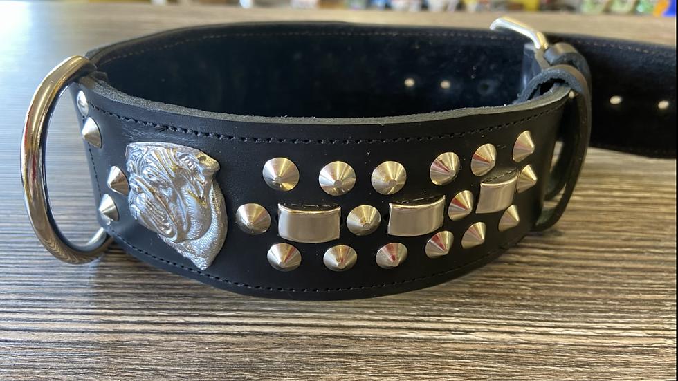 British bulldog collar
