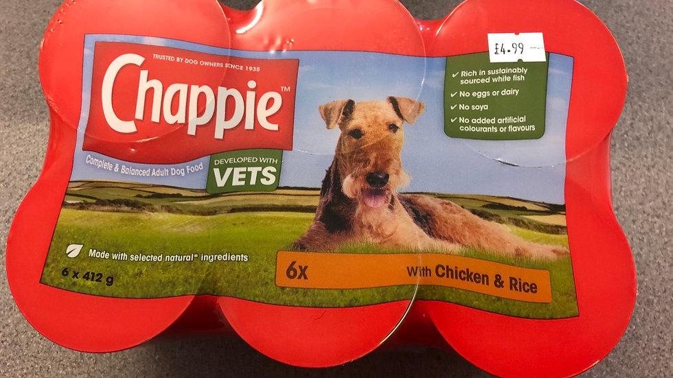 Chappie dog tins