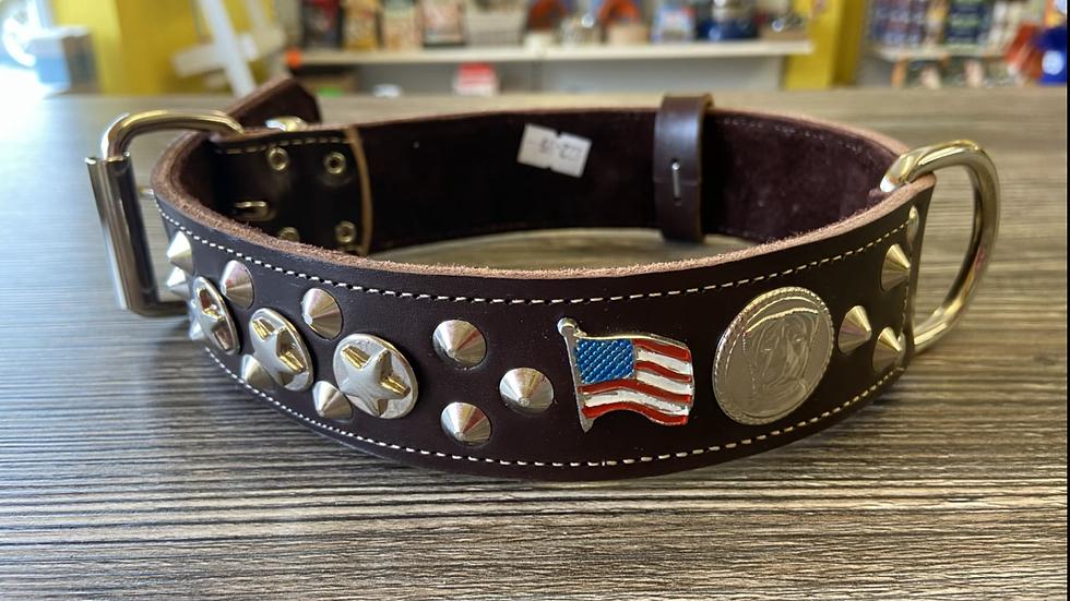American staffie collar