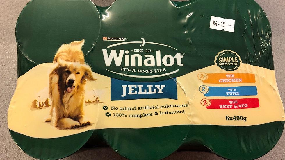 Winalot Jelly tins