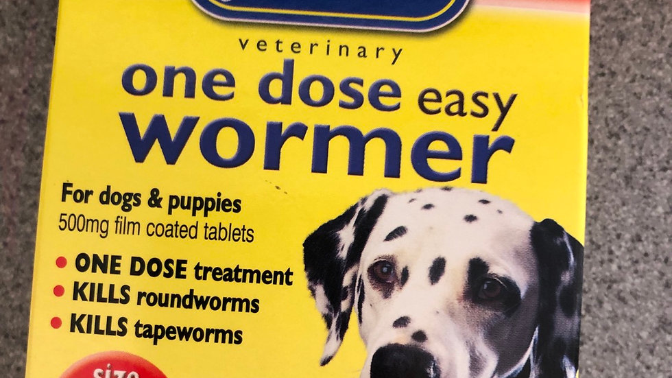 Johnson's wormer large dogs