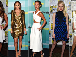 10 fashionable red carpet looks from Comic-Con