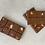 Thumbnail: BARRA DE CHOCOLATE AO LEITE COM MORANGO