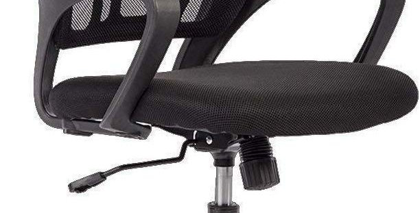 Yaheetech Office Chair Mid Back Swivel Lumbar Support Desk Chair