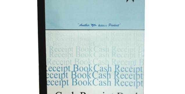 Hardcover Cash Receipt Book