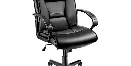 Brenton Ruzzi 11 Black Leather Chair