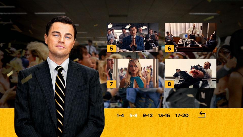 Wolf of Wall Street - Scenes