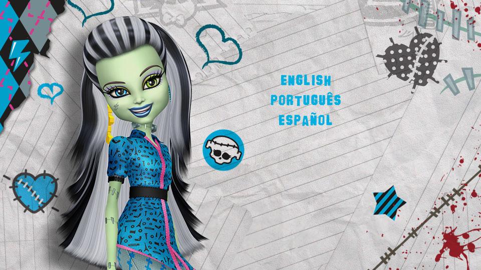 Monster High - Top Menu