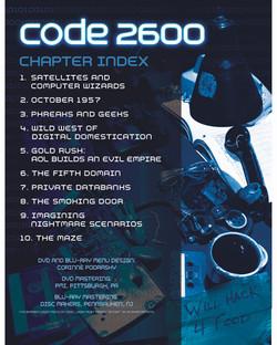 Code 2600 - Inlay Card