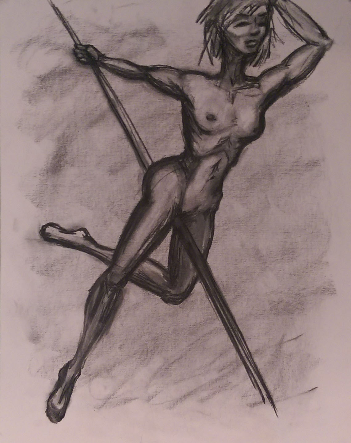 Pole Dancer - Sketch