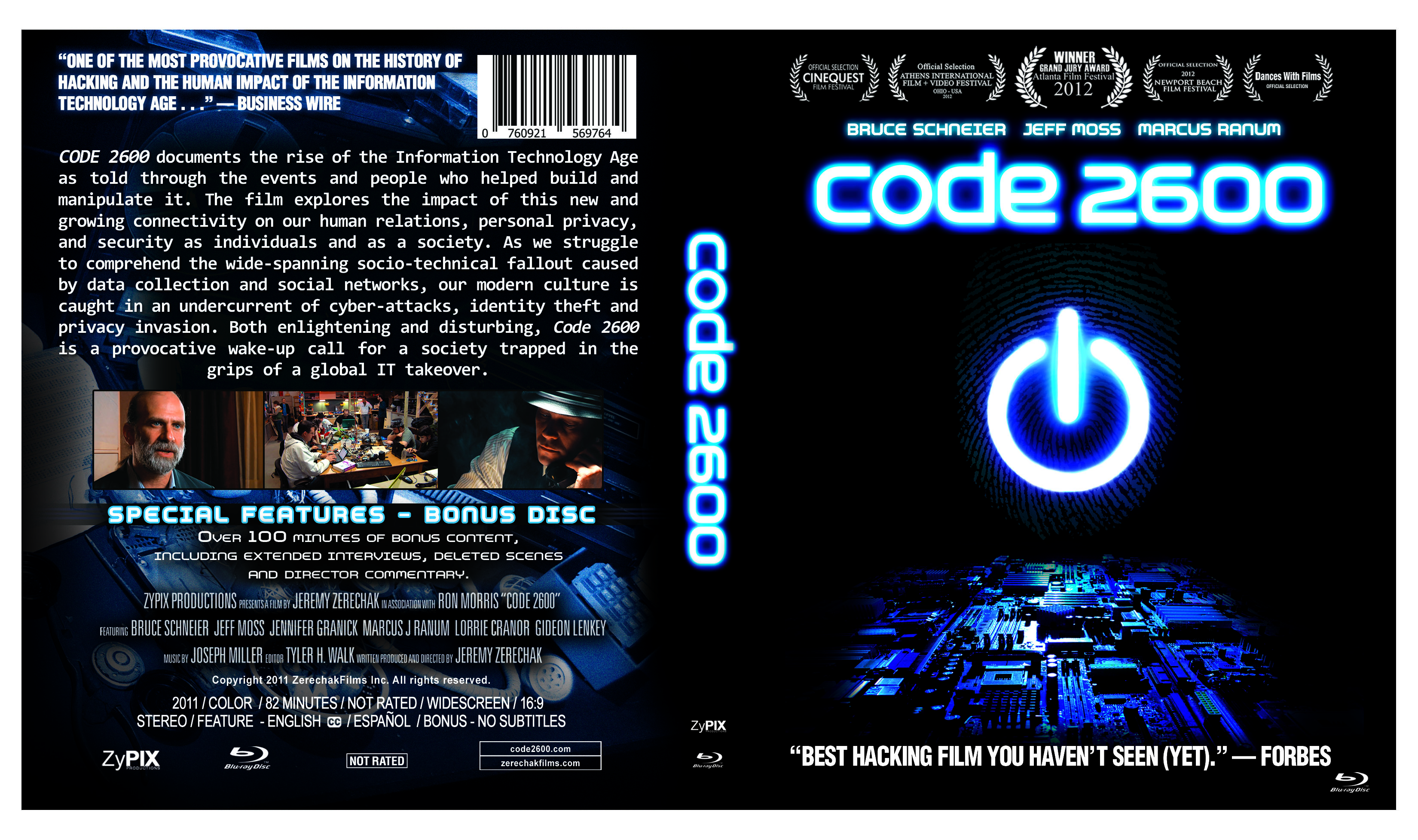 Code 2600 - Front Cover