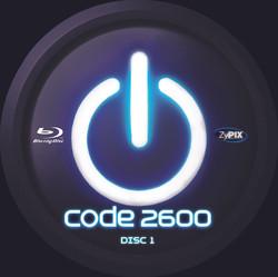 Code 2600 - Disc Art
