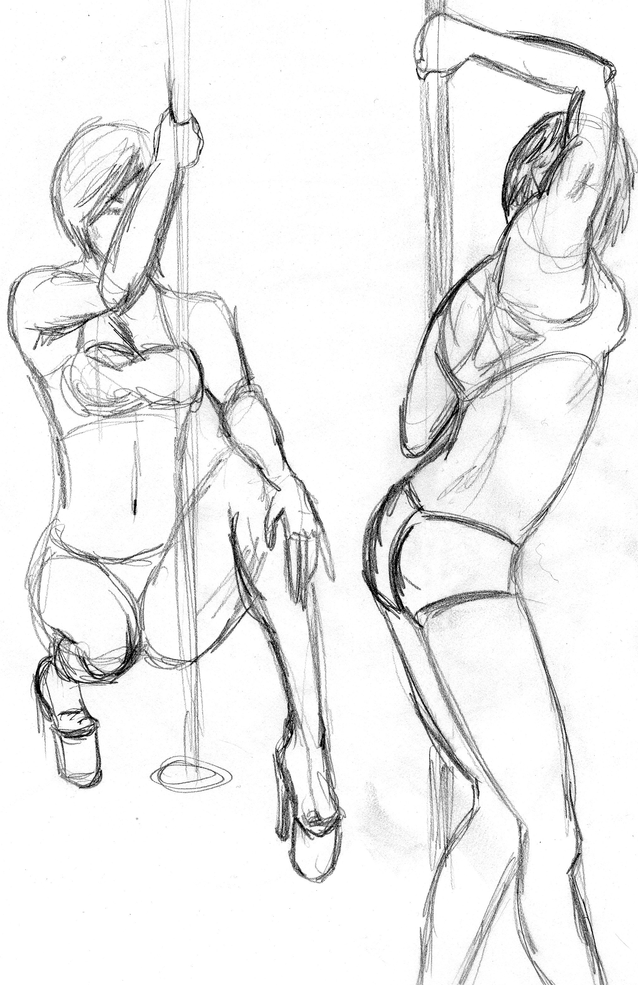 Pole - Pencil Sketch