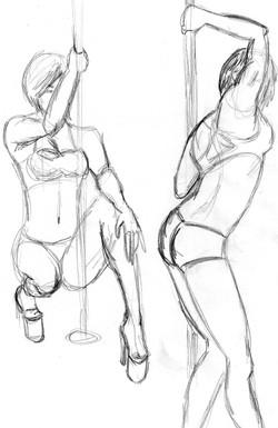 Pole - Pencil Sketch