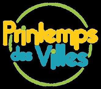 Printemps des Villes - Urbanité - écologie humain démocratie - Logo