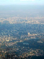 Sofia from above