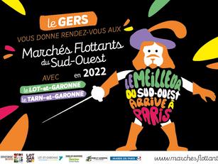 21ÈME ÉDITION DES MARCHÉS FLOTTANTS DU SUD-OUEST : RENDEZ-VOUS EN 2022 !