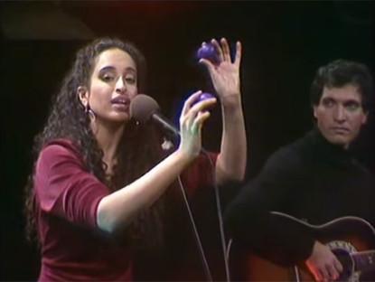 Noa Sings Mishaela on Israeli TV