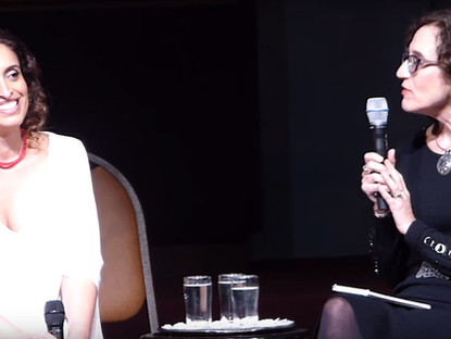 Noa in conversation with Editor-in-Chief Jane Eisner