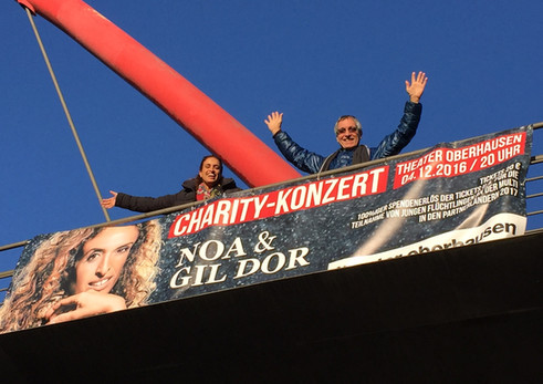 20161204 Noa & Gil Concert Theater Oberhausen - Full Booked
