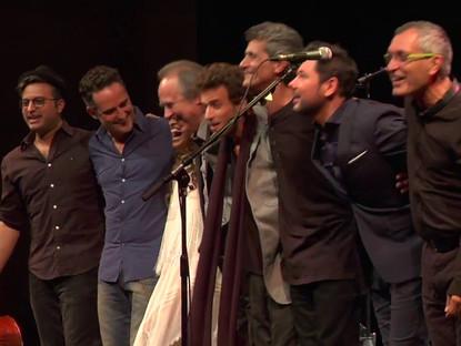 Noa and Friends in concert at the Gran Teatre del Liceu, Barcelona