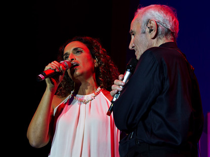 Noa and Charles Aznavour – She