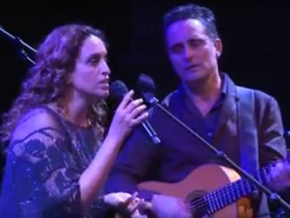 """Noa and Jorge Drexler sing """"Milonga"""""""