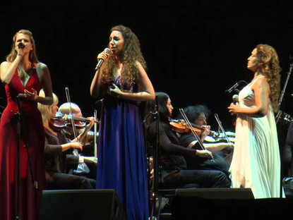 "Noa with Shiri Hershkovitz and Tal Bergman sing ""Hayu Leilot"" (There were Nights)"