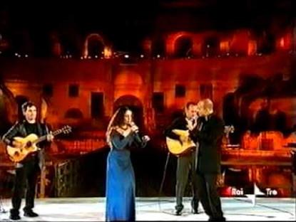 Noa & Nabil Salameh/Radiodervish live at Colosseum