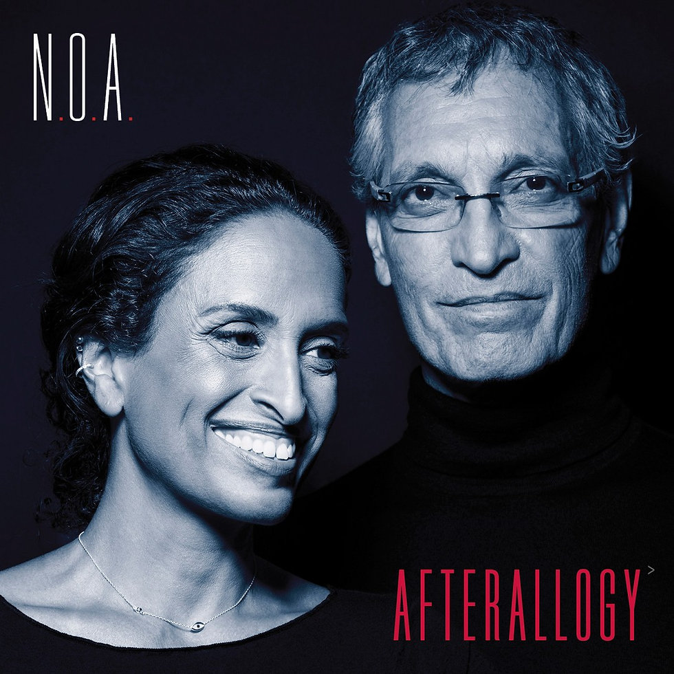 Noa Afterallogy Album Cover