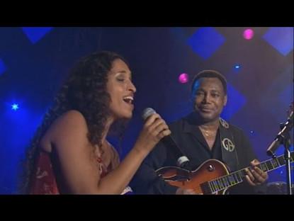 "George Benson & Noa perform ""This Masquerade"" – Montreux Jazz Festival"