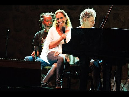 Noa on Stage with Bobby McFerrin and Chick Corea