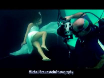 "Noa (Achinoam Nini) Underwater Shoot for ""Love Medicine"""