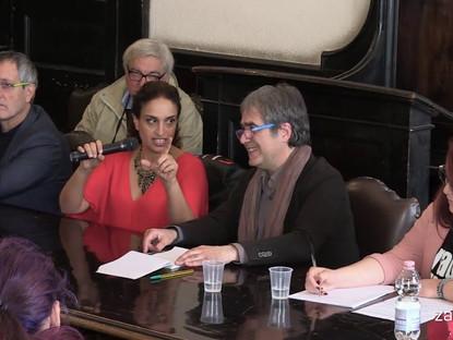Noa in Conversation at the University of Catania, Italy