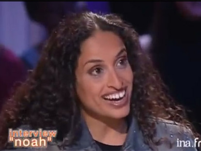 "Interview of Noa at the French Talk Show ""Tout le Monde en Parle"""
