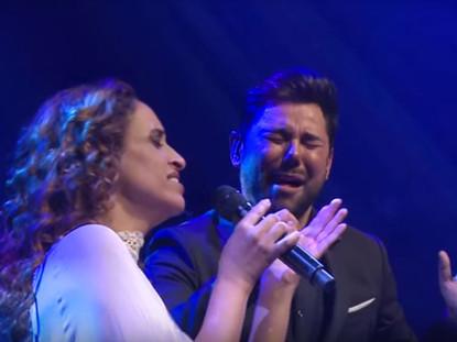 """Noa and Miguel Poveda sing """"Ay mi Nino"""""""