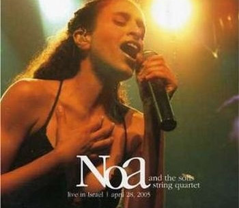 Noa Live – DVD/Double CD with Solis Quartet