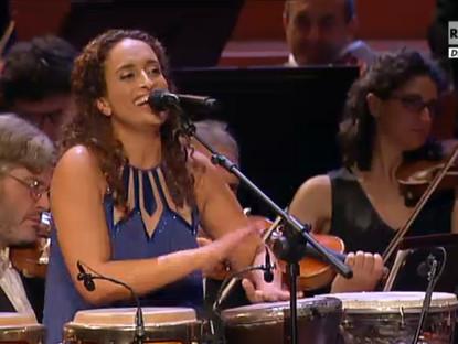 Noa in MITO/Prix Italia, with Orchestra Nazionale della RAI in Torino