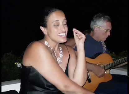 Noa sings Panarea Blues